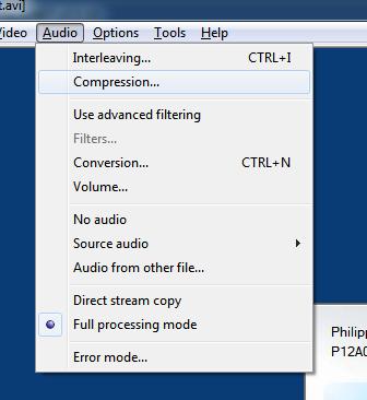 Virtualdub audio1