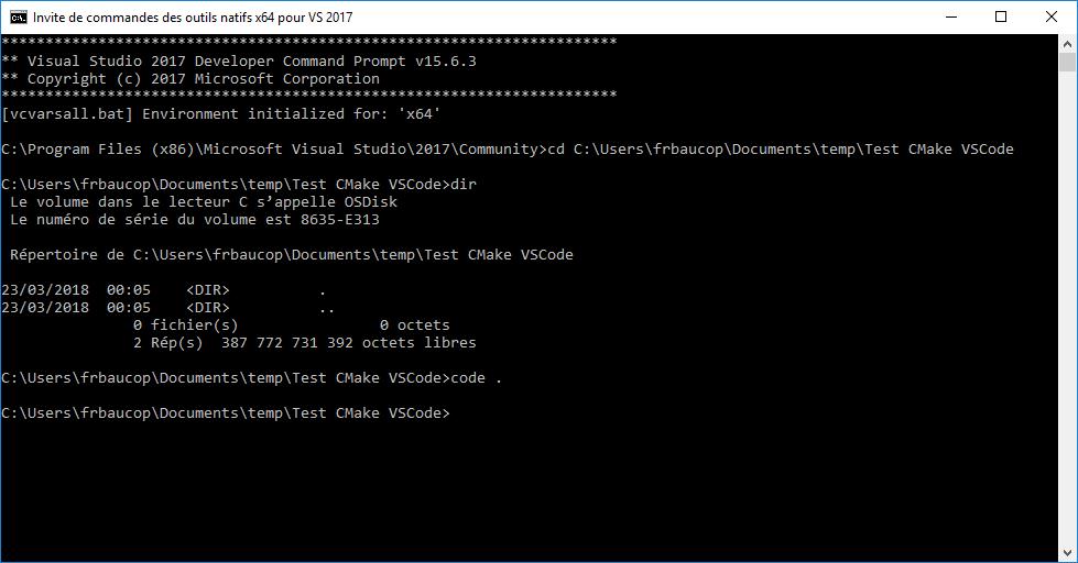 Developer Command Prompt
