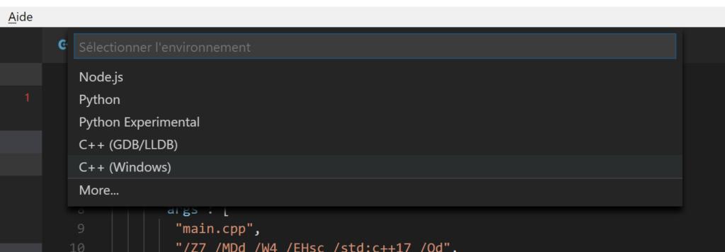 Debug with VS Code