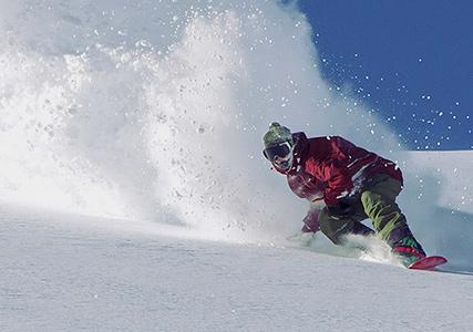 Snowboard à Serre Chevalier!